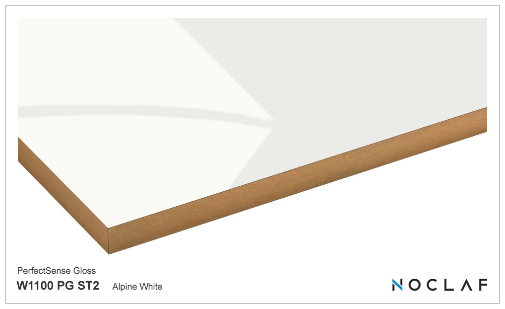 New décor – Alpine White in High Gloss and Matt finishes