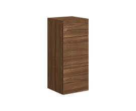 Drawer cabinet with door