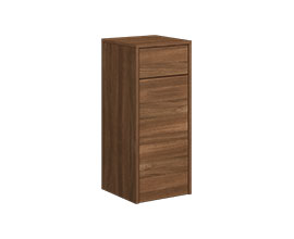 Cupboard with drawer and doors