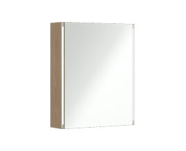 Mirror cabinet with LED lighting 60 cm