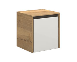 Single drawer storage unit with casters