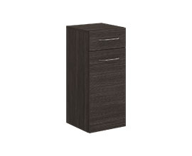 Storage cabinet with drawer and door